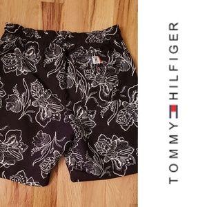 Tommy Hilfiger Swim Trunks   Black & White